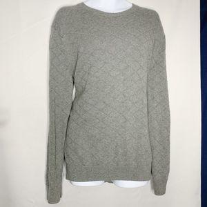 Banana republic factory gray scoop sweater L